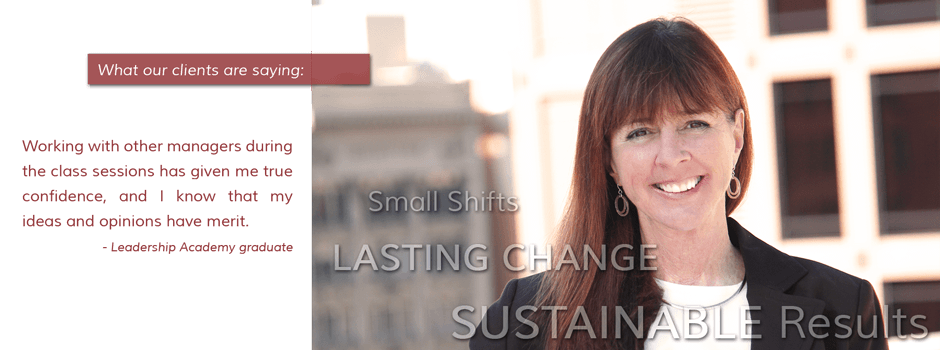 Small Shifts, Lasting Change, Sustainable Results