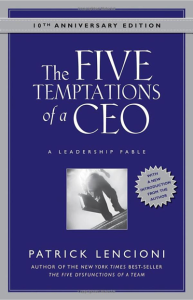 The 5 Tempations of a CEO
